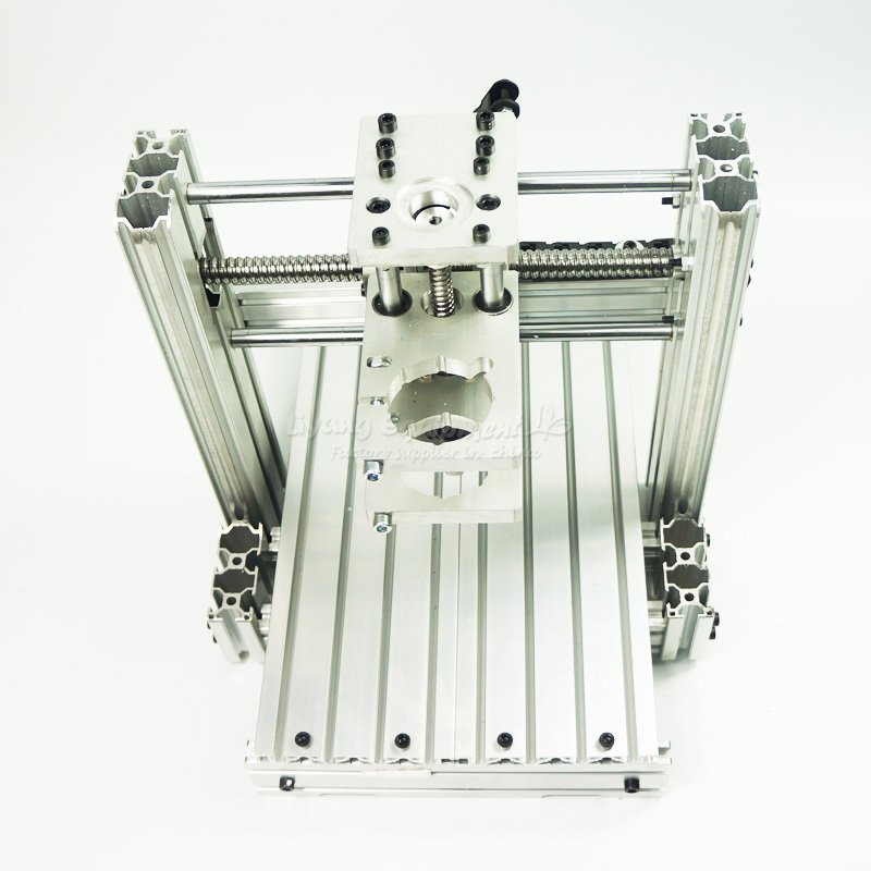 Cnc Milling Machine Frame Kit 3020 With Aluminum Plate