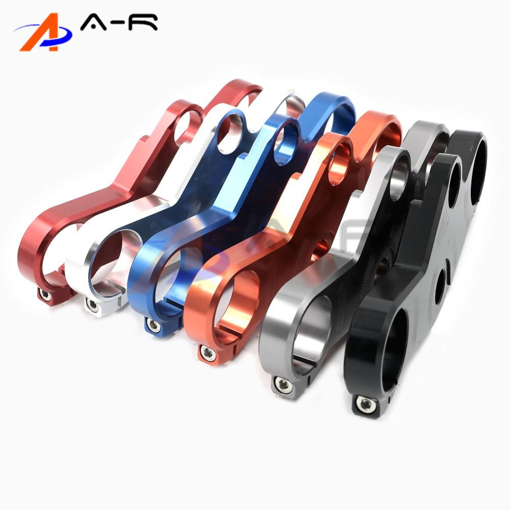 Motorcycle CNC Aluminum Lowering Triple Tree Front End Upper Top Clamp For SUZUKI GSX-R600/750 GSX-R1000 2001-2002