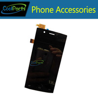 1PC Lot High Quality Black Color For Fly FS451 LCD Screen Display And Touch Screen Replacement