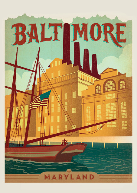 America Seattle Washington Pop Travel Poster Classic Retro Vintage Kraft Decorative DIY Wall Sticker Home Bar Posters Decoration