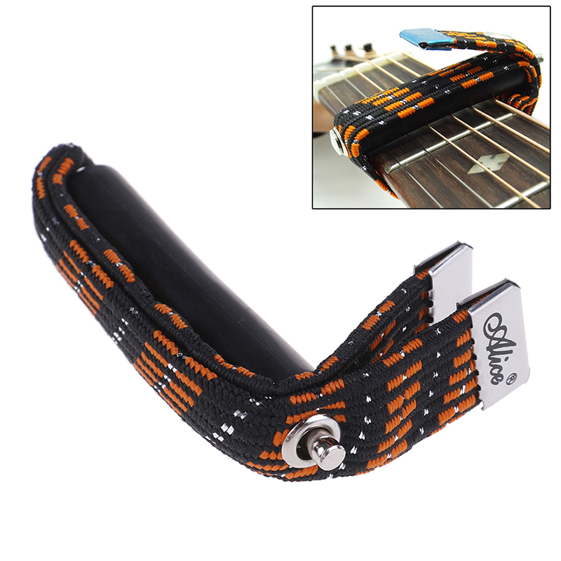 IRIN Guitar Capo On/with/for Folk/Classical/Electric Guitar Capotrast Elastic Multifunctional Spreading