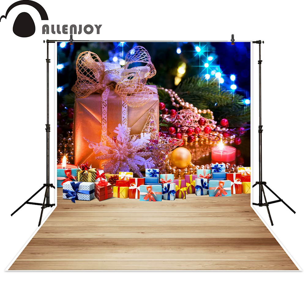Allenjoy photography backdrop Christmas tree gift streak photocall photographic photo studio photobooth fantasy allenjoy christmas photography backdrop wooden fireplace xmas sock gift children s photocall photographic customize festive
