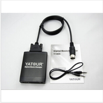 Moonet AUX adatpter, Car CD Changer AUX USB SD adapter for Alpine M-Bus NSX 1991-2005, Integra 1999, TL 1999, TMD CMD CD emt tmd 15