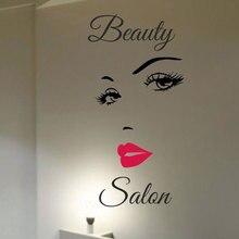 Hair Beauty Salon Hairdresser  WALL ART MURAL STICKER DECAL F776