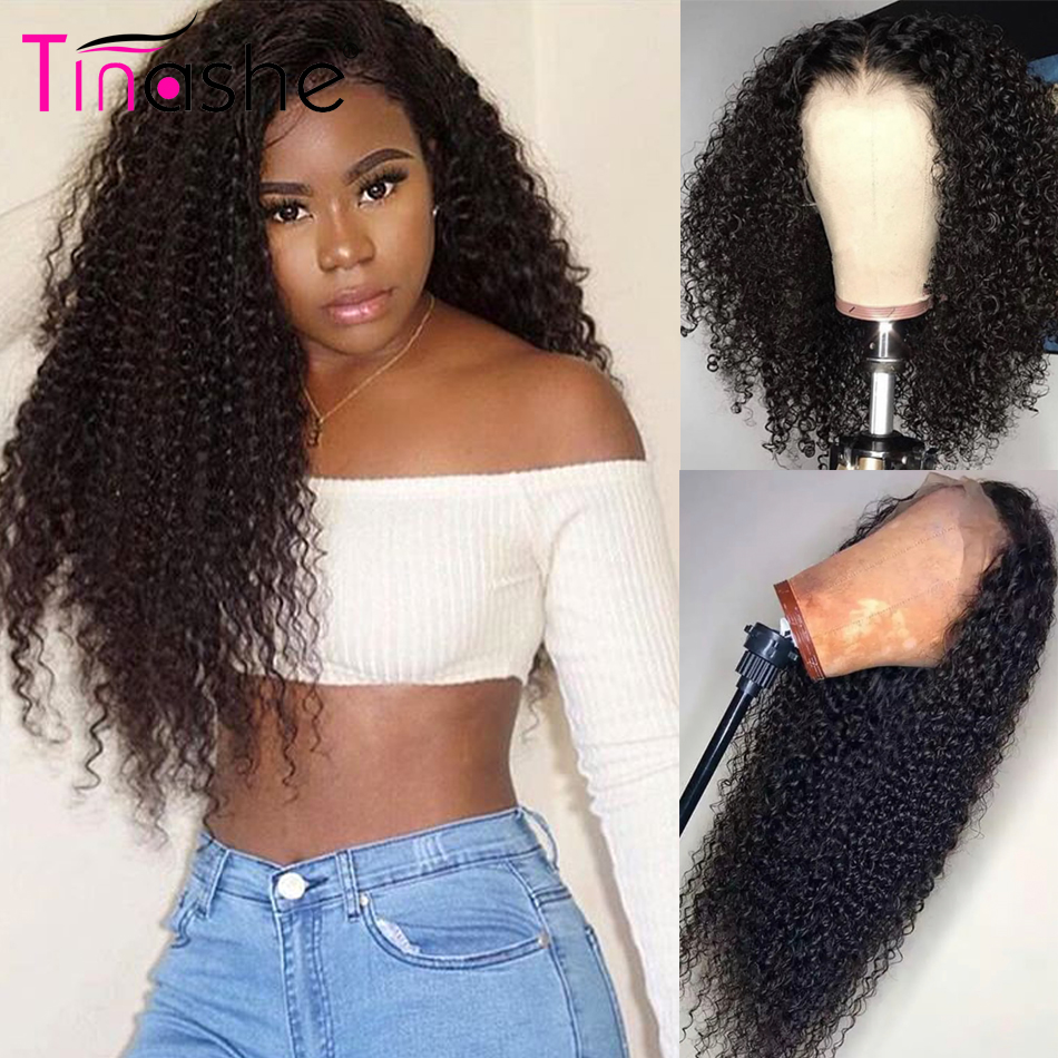 Curly Human Hair Wig Tinashe Hair 360 Lace Frontal Wig 180 250 Density Brazilian Kinky Curly Lace Front Human Hair Wigs