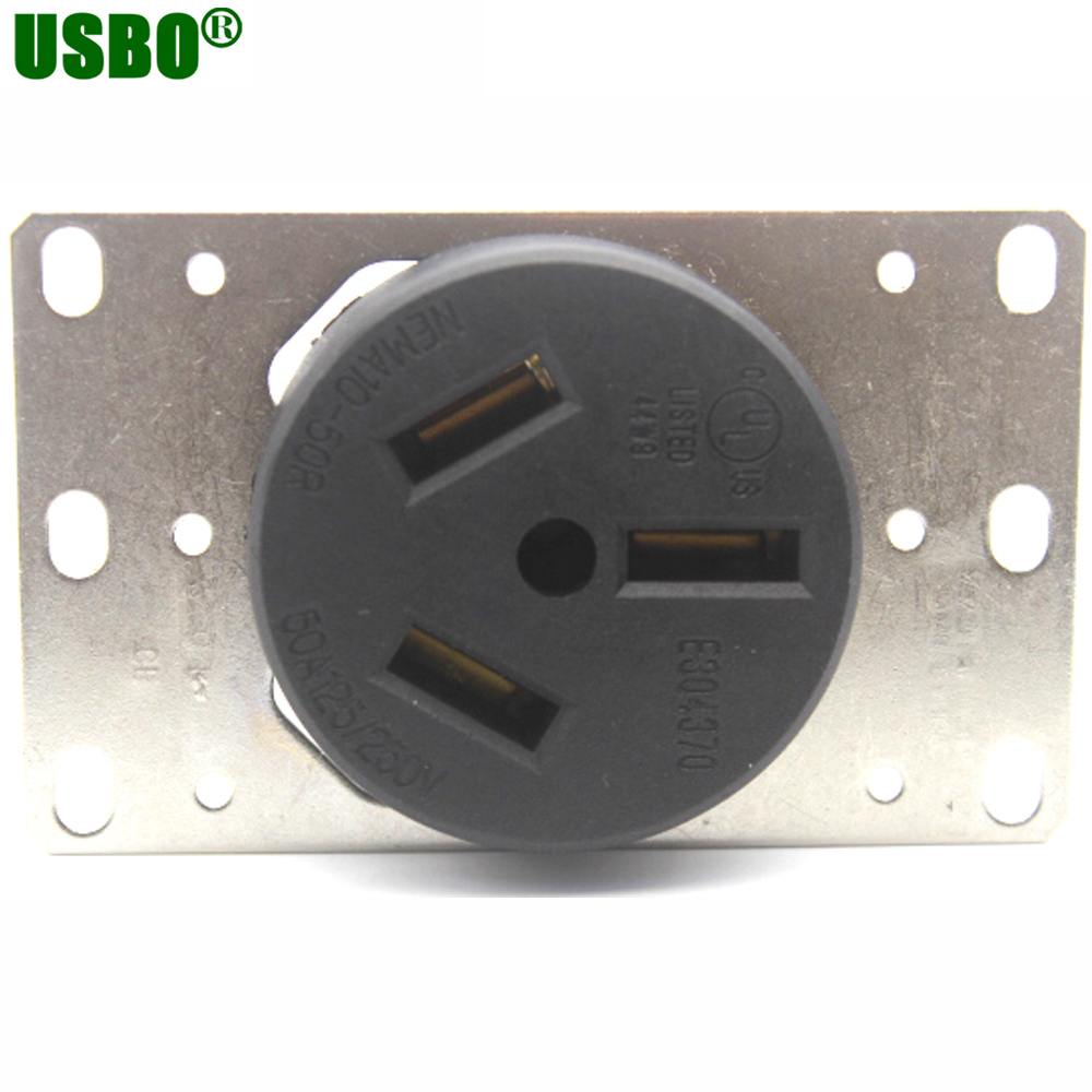 American 250v 50a Nema L10 50r Us Generator Au Outlet Anti Off 110v Plug Wiring Industrial Power Socket Inline Wire Connector With Panel On Alibaba