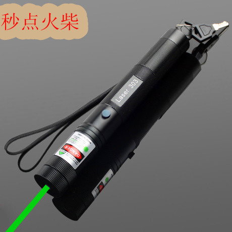 Burning green laser pointer 100000mw 100w 532nm high power focusable can burn match burn cigarettes pop