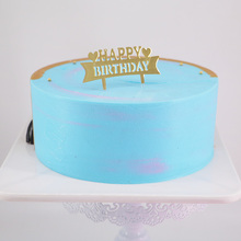 Happy birthday cake, baking, plastic cake decorating, banners, dessert, costumes and costumes100pc
