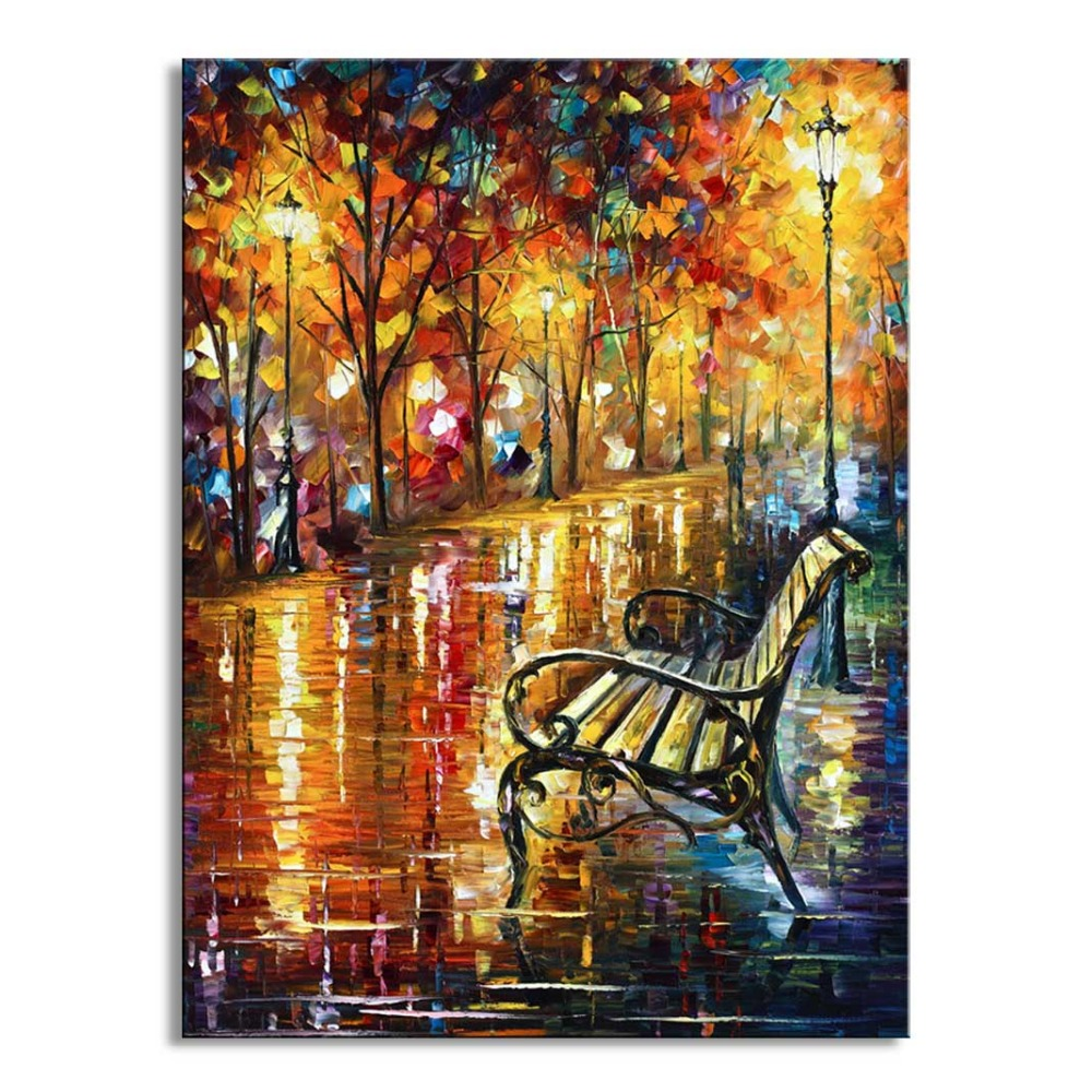 Living room oil paintings - Oil Painting Knife Hd Print Canvas Home Painting Photo Print Painting Prints Wall Painting Living Room