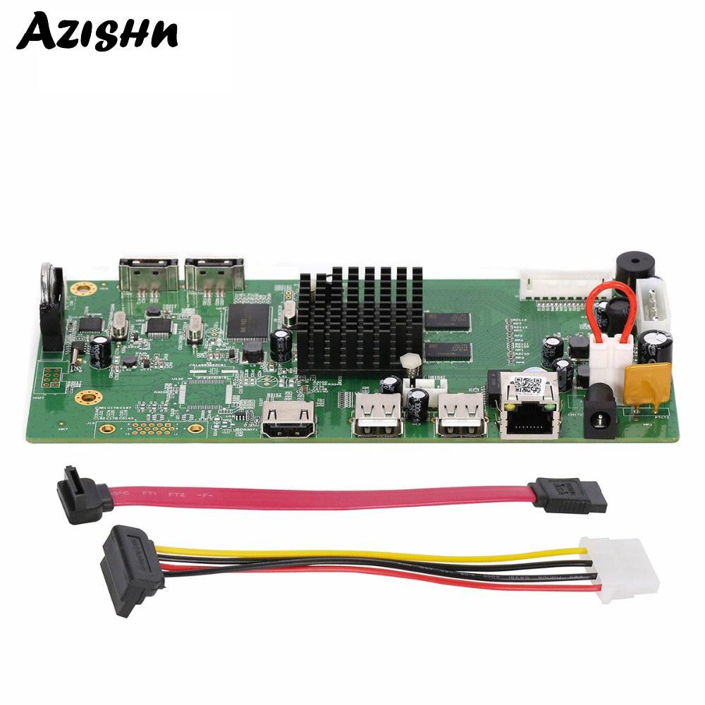 AZISHN 8CH 4MP/4CH 5MP HI3798M Module ONVIF H.265 P2P NVR Board HDMI VGA 4K CCTV Digital Video Recorder Support Motion DetectionAZISHN 8CH 4MP/4CH 5MP HI3798M Module ONVIF H.265 P2P NVR Board HDMI VGA 4K CCTV Digital Video Recorder Support Motion Detection