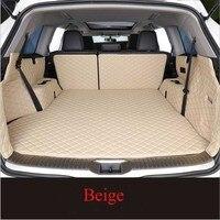 Custom Cargo Liner For Hyundai Santa Fe 2013 Car Floor Trunk Carpet Rugs Mats Waterproof Automobile Accessories Car styling|  -