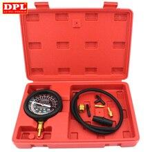 Testador de carro manifold calibre teste carburador válvula bomba combustível pressão & vácuo