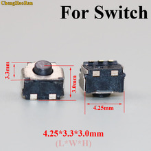 ChengHaoRan 100x L R Left Right Micro Switch Button Internal Button for Nintendo NS for 3DS 3DSXL 3DSLL replacement repair parts