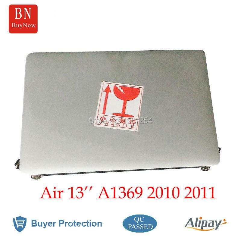Genuine Used For Apple Macbook Air 13'' A1369 LCD Screen Assembly 2010 2011 MC503 MC504 MC965 MC966