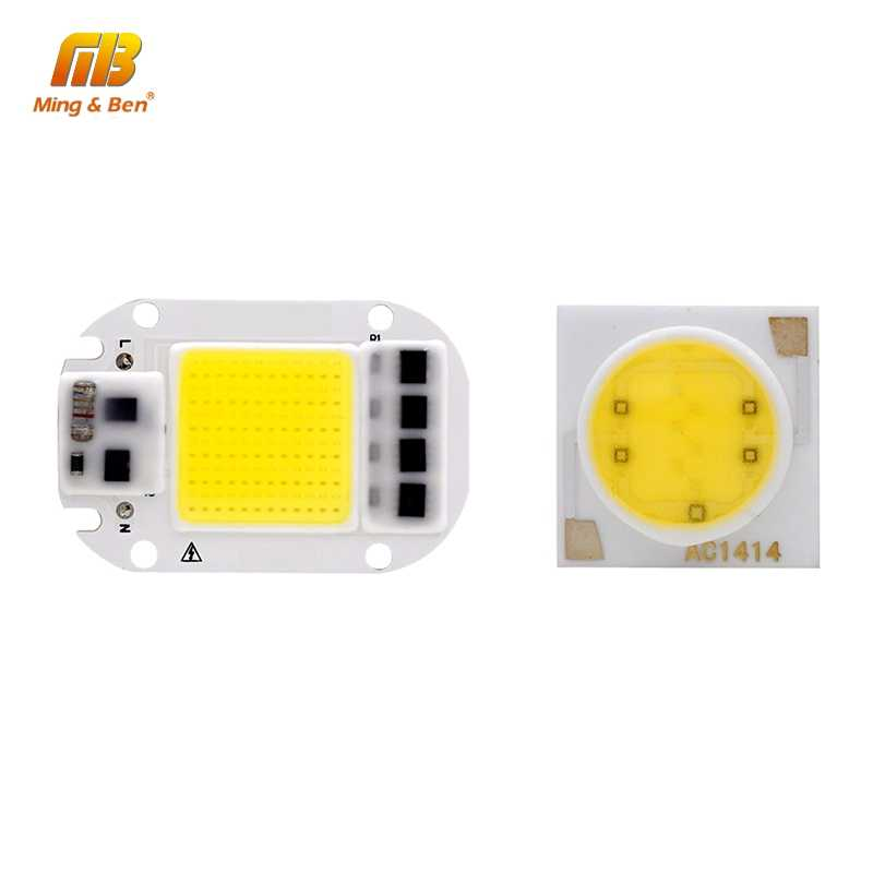 LED COB Chip 3W 5W 7W 9W 12W 15W 18W 20W 30W 50W 220V 110V Smart IC High Lumen LED Lamp Chip For DIY Floodlight Light Bulb Bead