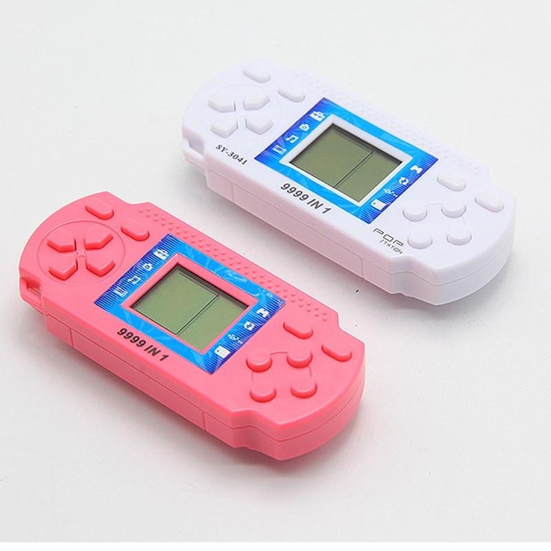Tetris Brick Portable Handheld Game Machine Kids Gaming Device Childhood Reminiscence Mini Toys Best Gift For Children
