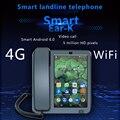 LTE 4 г фиксированный беспроводной стационарный Android 6,0 с 4 г sim-сетевой видеофон glob Универсальный пожилой wifi видео мобильный телефон