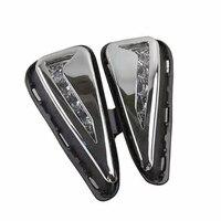2Pcs/Set SUNKIA 12v LED Daytime Running Light Car Styling DRL Fog Lamp for Toyota New Camry 2015 2016 with Turn Signal Light