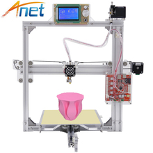 Anet A2 Imprimante 3D Précision i3 3D Imprimante BRICOLAGE Kit Grande Taille 220*220*220mm/220*270*220mm avec 10 M Filament pour Livraison