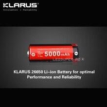 Переносное освещение аксессуар Кларус Перезаряжаемые li-ion 3.7 В 5000 мАч 26650 Батарея для оптимальной производительности и надежности