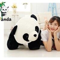 90cm Cute Stuffed Animal Big Bamboo Panda Plush toy Kids Doll Soft Pillow Kawaii Baby Chinese Gifts for Children Dropshipping