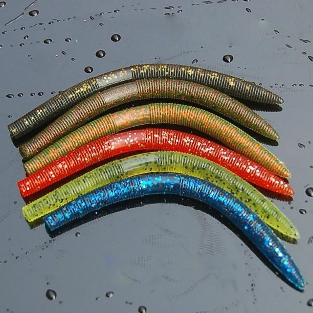 2018 New Senko Worm For Neko Rig wacky rig 14cm 8.5g  Gemany PVC Material Tough  Soft Great Soft Plastic Swim Bait fishing lure