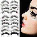 10 Pairs Styles Mix False Eyelashes Handmade Makeup Natural Long Fake Eye Lashes Set
