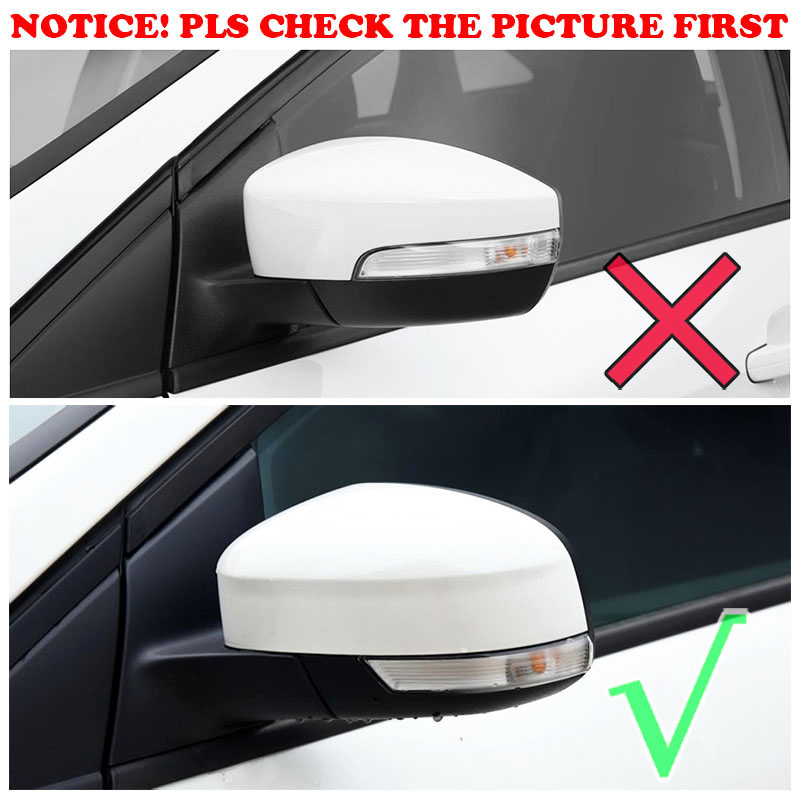 Us 18 02 14 Off Car Styling Chrome Side Door Rear View Mirror Cover Trim Overlay Molding For Ford Focus Mk3 2012 2013 2014 2015 2016 2017 2018 In