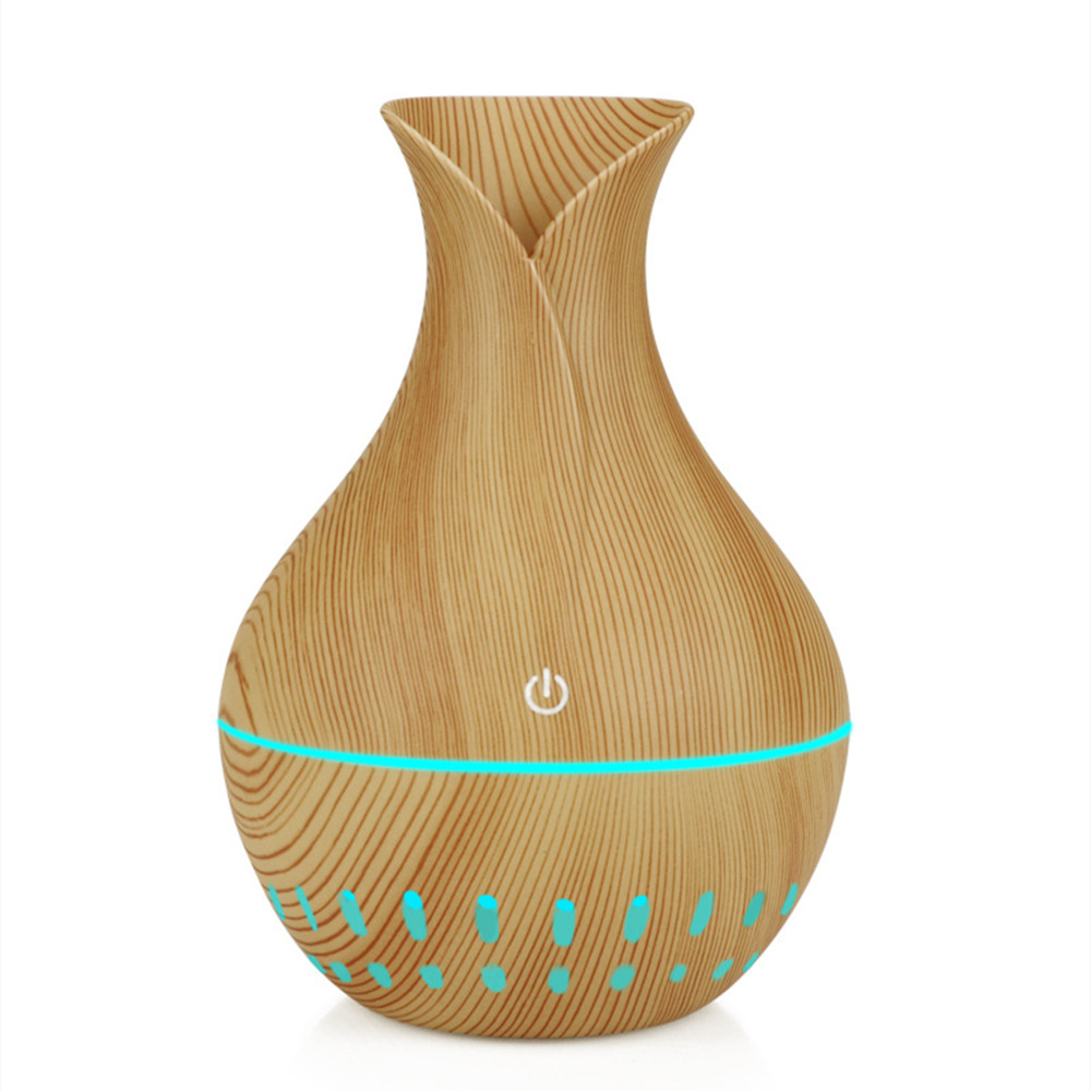 usb air humidifier 130ml Aroma Essential Oil diffuser 7 Color Changing LED lights mini Aromatherapy machine home office