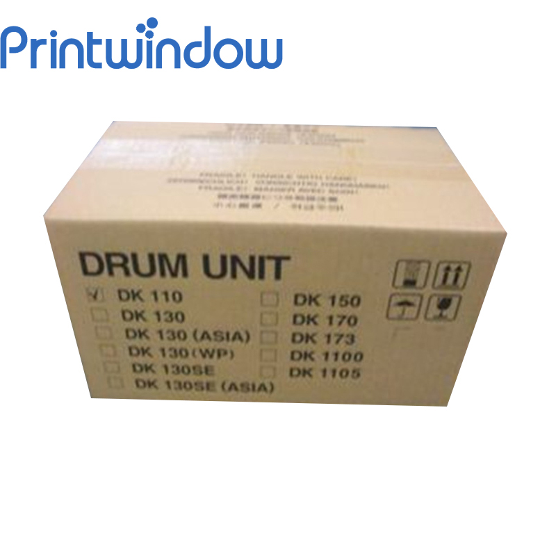 Printwindow New Original Drum Unit for Kyocera DK110 FS-1016 FS1500 Drum Kit new and original for niko d600 d610 rear cover unit 1f999 405