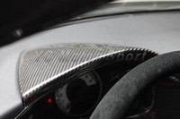Car Accessories Dry Carbon Fiber Dashboard Cover Fit For GT86 FT86 ZN6 FRS BRZ ZC6 Dashboard Cover Car styling