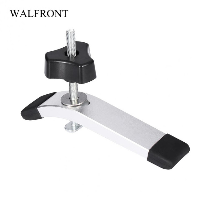 Metal clamps for woodworking quick acting hold down clamp
