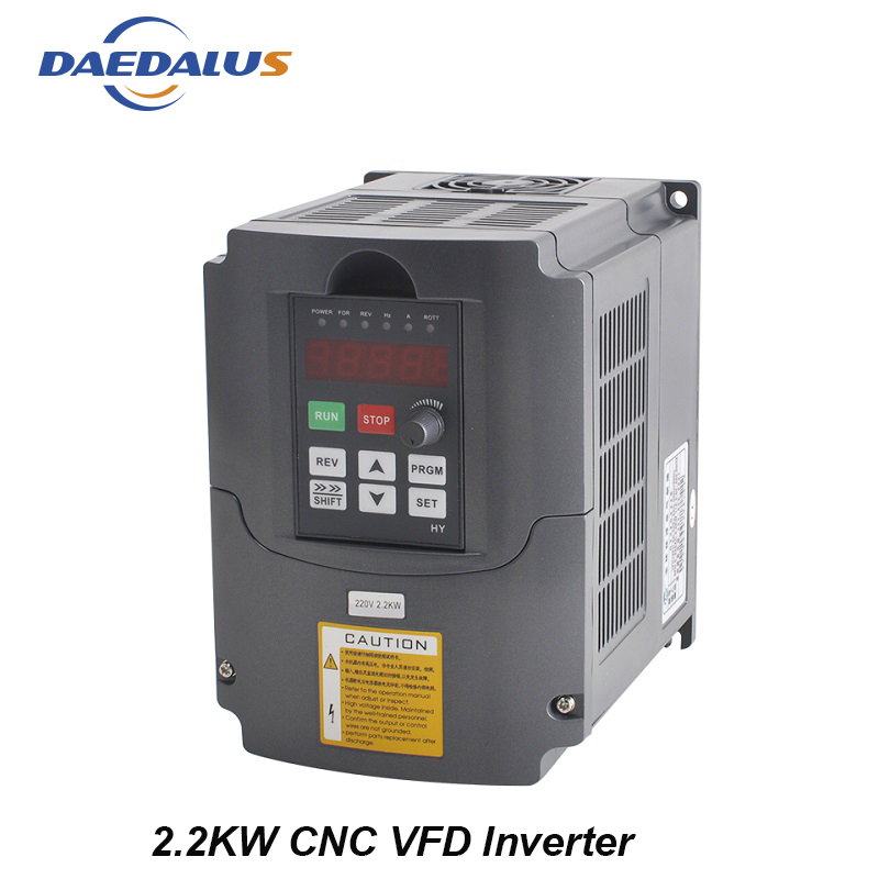 цена на Free Shipping 2.2KW 220V Frequency Inverter 400HZ VFD Variable Frequency For CNC Spindle Motor Speed Control Inverter Converter