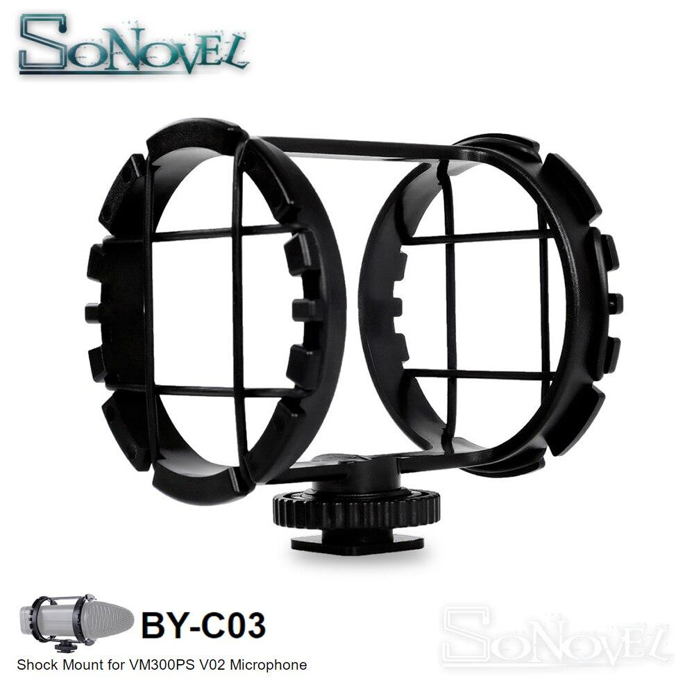 Boya BY-C03 câmera sapato shockmount para microfones 1
