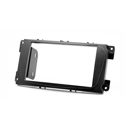 2 Din Car Radio Stereo Fascia Panel Frame DVD Dash Installation Kit for Ford Focus Ii, Mondeo, S-max, C-max 2007-2011; Galaxy Ii все цены