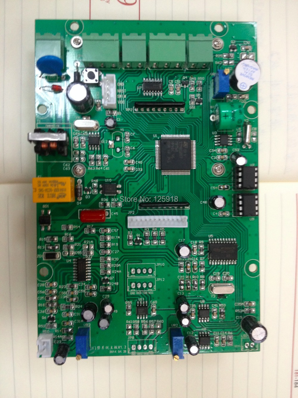 Customized Printed Circuit Board Assembly Access Control System Engineering And Electronics In Double Sided Pcb From Electronic Components Supplies On