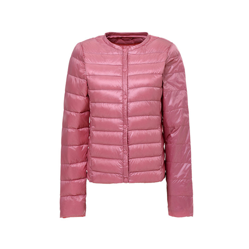 Autumn Winter Women Lightweight   Down   Jacket Warm Ultra Light White Duck   Down   Parkas Outwear Plus Size Slim Thin Short   Coat   A515