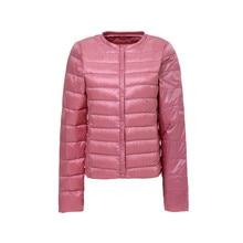Autumn Winter Women Lightweight Down Jacket Warm Ultra Light White Duck Down Parkas Outwear Plus Size Slim Thin Short Coat A515