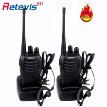 2pcs Retevis H777 Walkie Talkie 3W UHF 400-470MHz Frequency Portable Radio Set Ham Radio Hf Transceiver Handy Two Way cb Radio