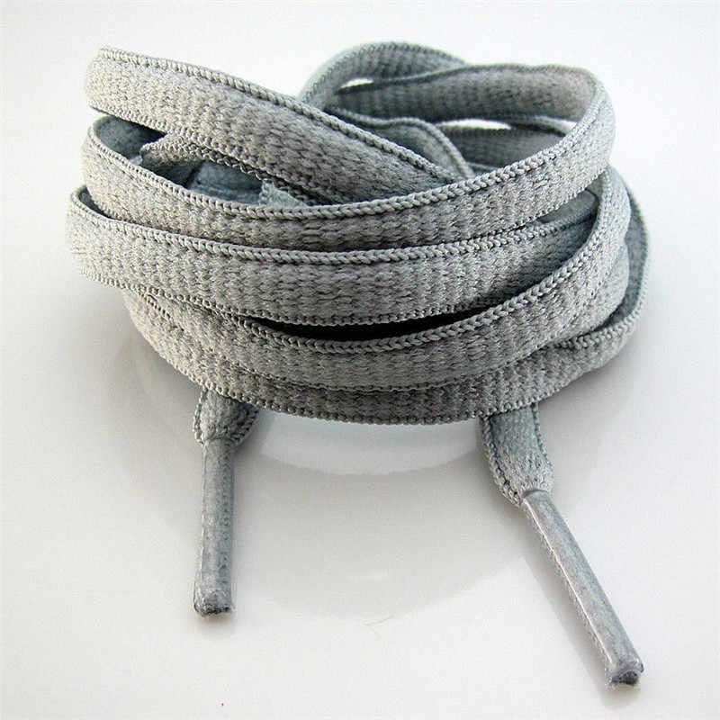 130cm Yeni 1Pair Atletik kolay Kravat Ayakabı spor ayakkabı Çizmeler Klasik Ayakkabı Danteller Dizeleri Basit Moda Süslemeleri