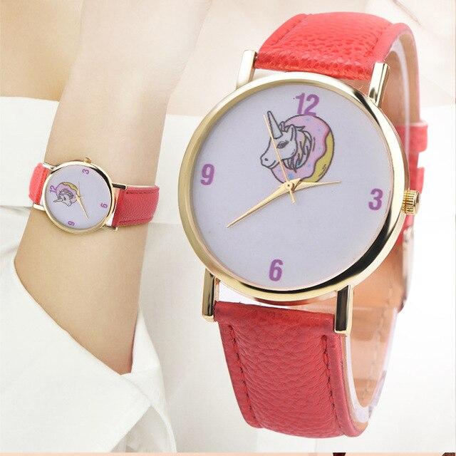 6fe8c6dc242 Unicórnio crianças Relógio Digital relógio para Crianças Relógio de pulso  das crianças Das crianças Meninas relógios
