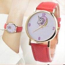 Единорог дети часы цифровые часы для детей Обувь для девочек часы Симпатичные Единорог девушки дети часы наручные часы Montre Enfant GARCON