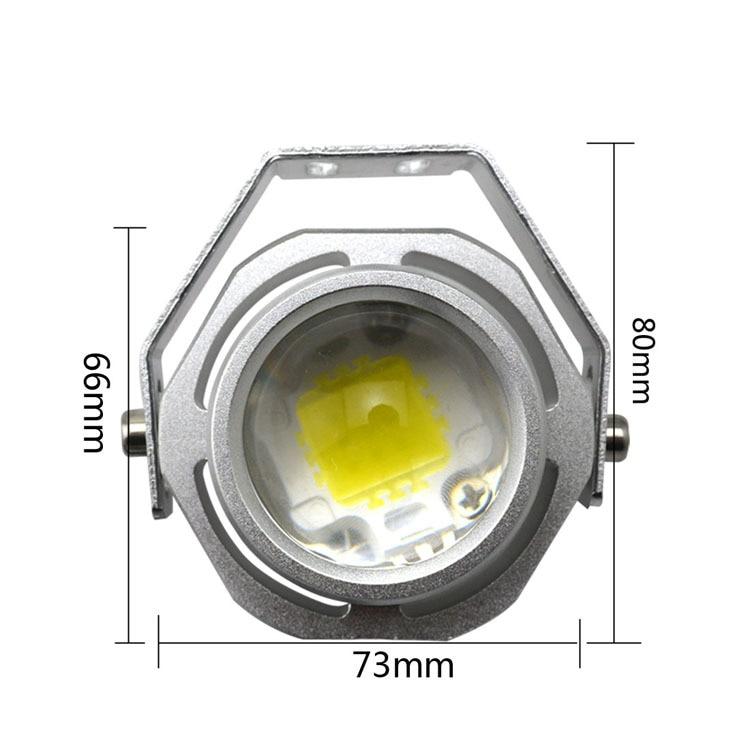 Super Bright Led Car Fog Lamp Waterproof 1000LM 10W CREE DRL Eagle Eye Light Daytime Running Reverse Backup Parking Warning