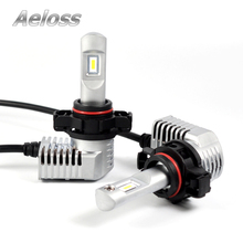 2Pcs H8 H9 H11 Led Canbus 9006 HB4 9005 HB3 5202 PSX24W PSX26W Led Bulb Car Fog Light 10400LM 6500K White 12V 24V Auto Lamp Bulb
