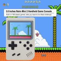 FGCLSY - Handheld Console with 168 Classic Games 3