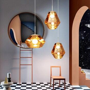 Nordic Modern Pendant Ceiling Lamps Iron LED Pendant Lights Pending Lighting Hanging Lamp Living Room Bedroom Light Fixtures
