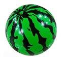 21 см детский Надувной Арбуз Воздуха Стресс Мяч, дети Пластиковые Игрушки Ребенка Прыгающий Мяч Хороший Подарок Открытый Fun & Спорт B496