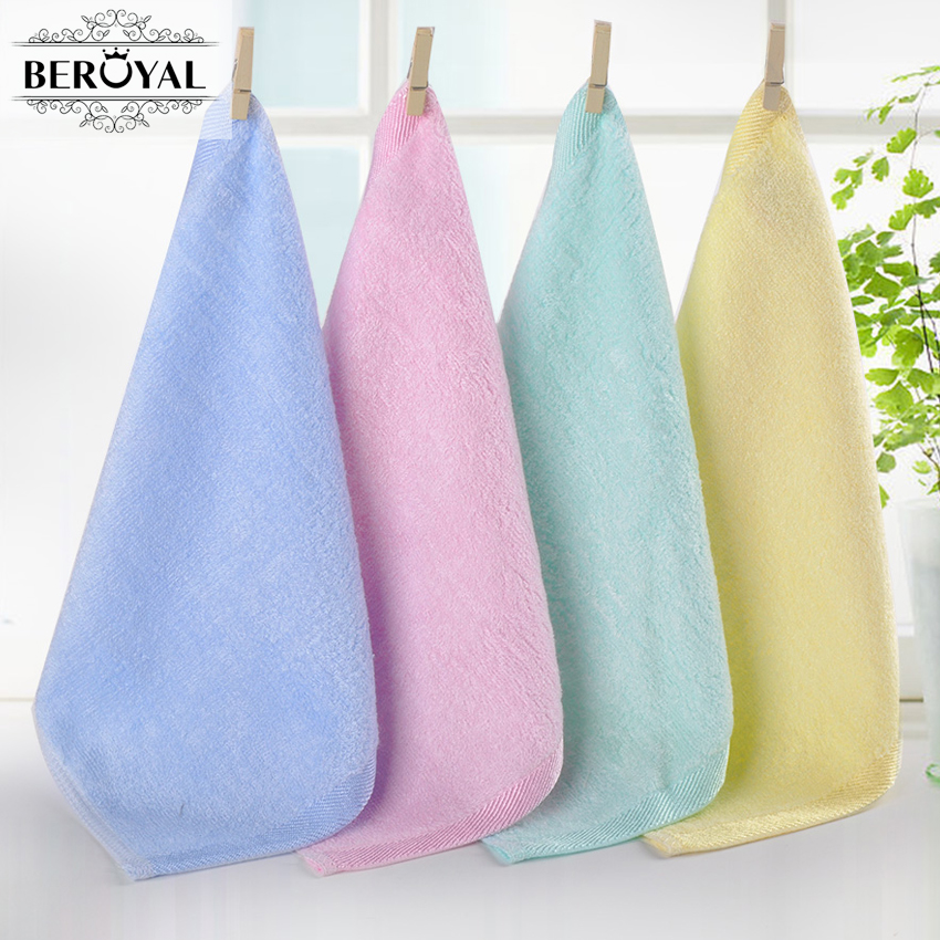 New 2018 Hot Sale Face Towel -10pc Bamboo Baby Towel 25x25cm Face Towels Baby Care Wash Cloth Kids Hand Face Towel For Newborn