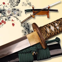 Sharp Kobuse Sword Japanese Folded Steel Full Tang Blade Samurai Katana  Handmade Knife Christmas Decorative Sword