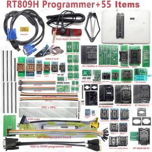 Image 2 - Freies verschiffen Ursprüngliche RT809H EMMC Nand FLASH Extrem schnelle Universal Programmierer + 38 Artikel + Edid Kabel MIT KABELN EMMC Nand